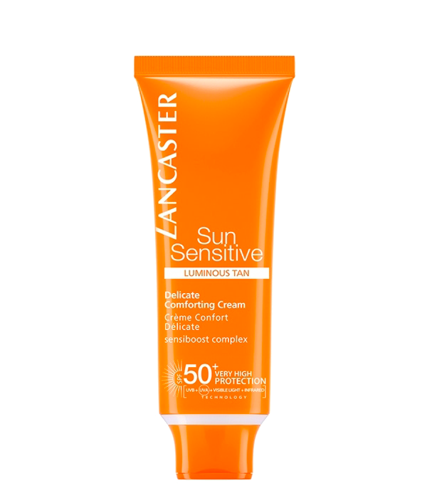 Sun Sensitive Luminous Tan Delicate Comforting Cream SPF50 Lancaster