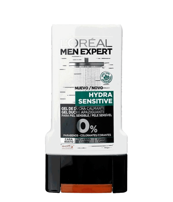 Hombre - L'Oréal Men Expert Gel Hydra-Sensitive | Prieto.es