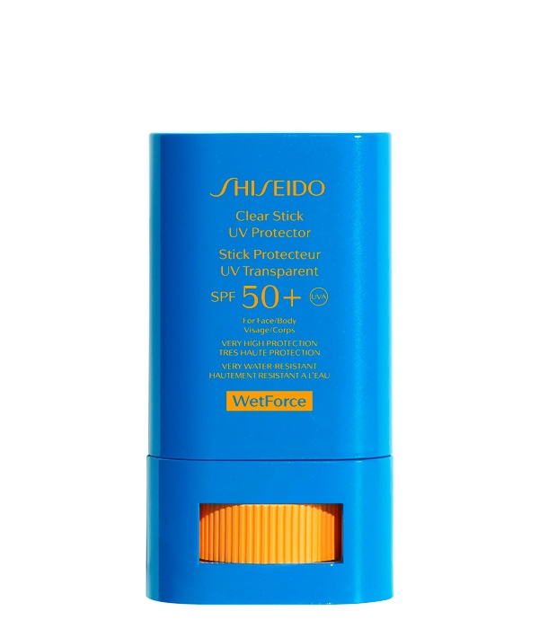 CLEAR STICK UV PROTECTOR SPF50+ WETFORCE