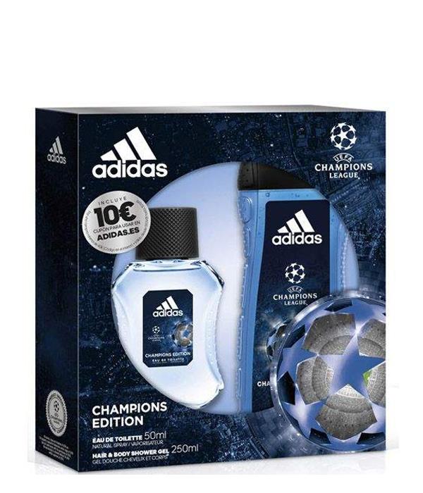 Señuelo cebra Materialismo  Adidas Uefa Champions Estuche Hombre de Adidas