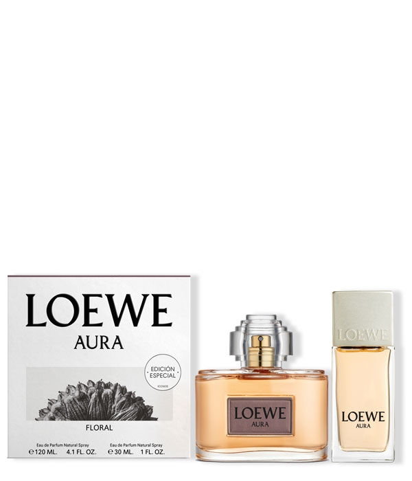 Loewe Aura Floral Estuche 120 ml + 30 ml | Comprar, Precio