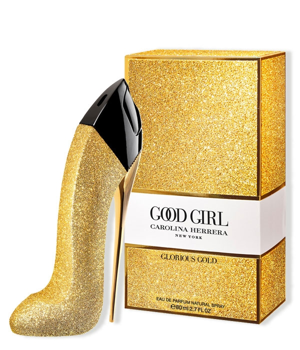 Good Girl Glorious Gold de Carolina Herrera. Perfume de mujer para regalar.