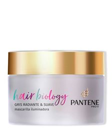 MASCARILLA HAIR BIOLOGY GRIS RADIANTE & SUAVE